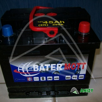 Autobaterie BaterMott 12V 44Ah  (360A)