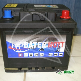 Autobaterie BaterMott 12V 50Ah (460 A)