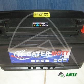 Autobaterie BaterMott 12V 100Ah  (780 A)