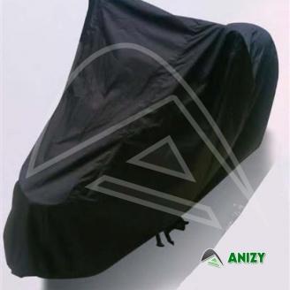 Moto plachta M - černý